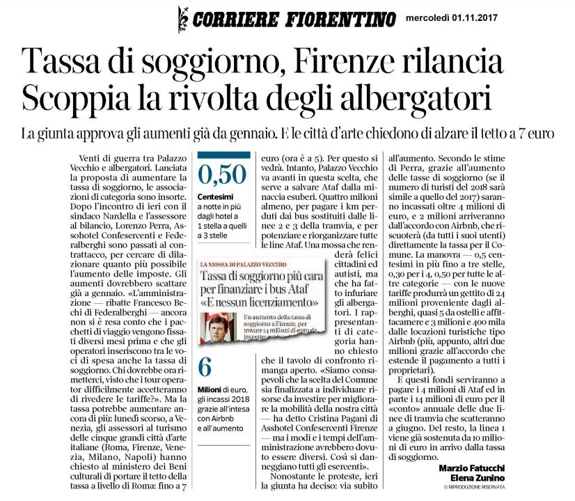 Confesercenti Firenze Categorie ASSOTURISMO: Associazione ...